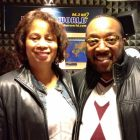 Jacquie Gales Webb and Marvin Sapp