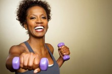 african-american-woman-exercising