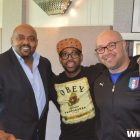 Marc Clarke, PJ Morton, and Troy Johnson