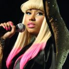 Nicki Minaj Dip Dyed in Pink Hair