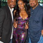 Tony Richards, Angela Stribling, and George Duke,