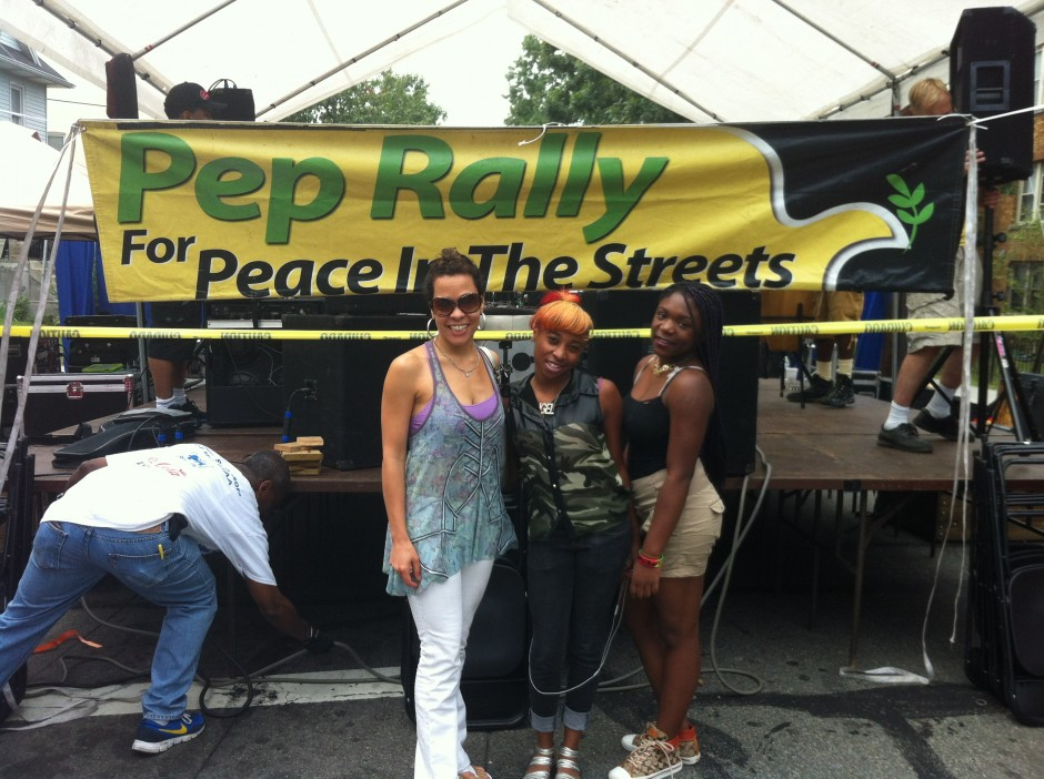 Pep Rally for Peace