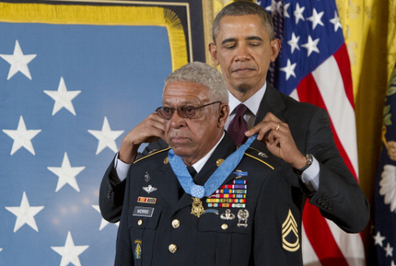 US-POLITICS-OBAMA-MEDAL OF HONOR