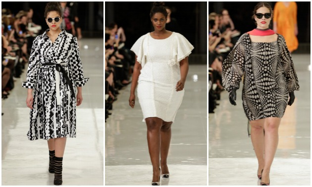 Plus Size Fashion Show Lane Bryant Casts Real Plus