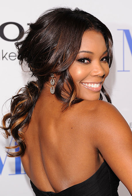 Gabrielle Union's Color hue