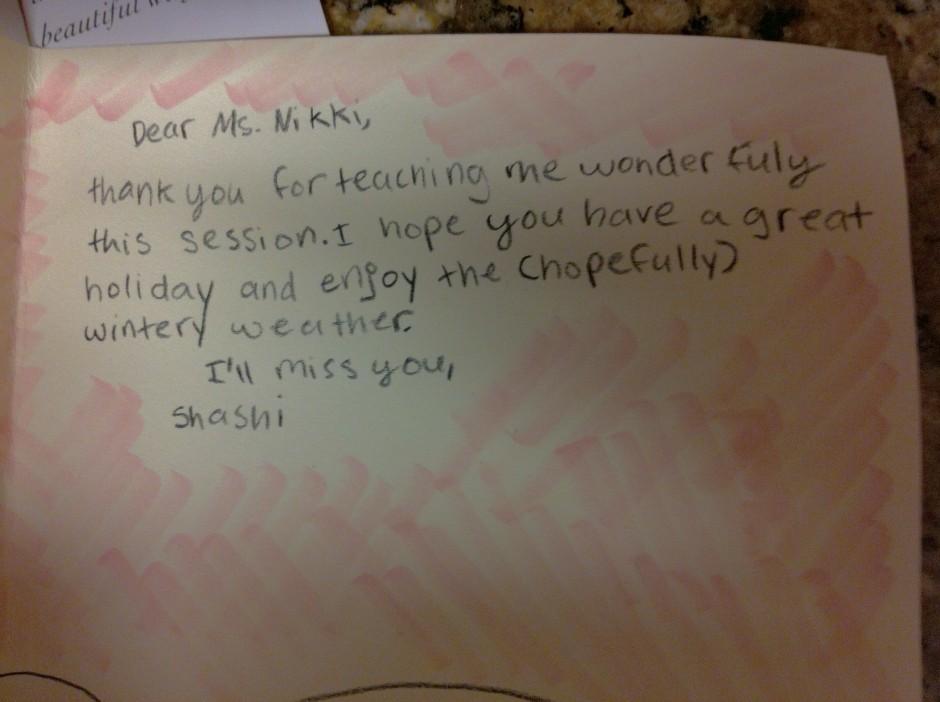Shashi's Holiday Card 2