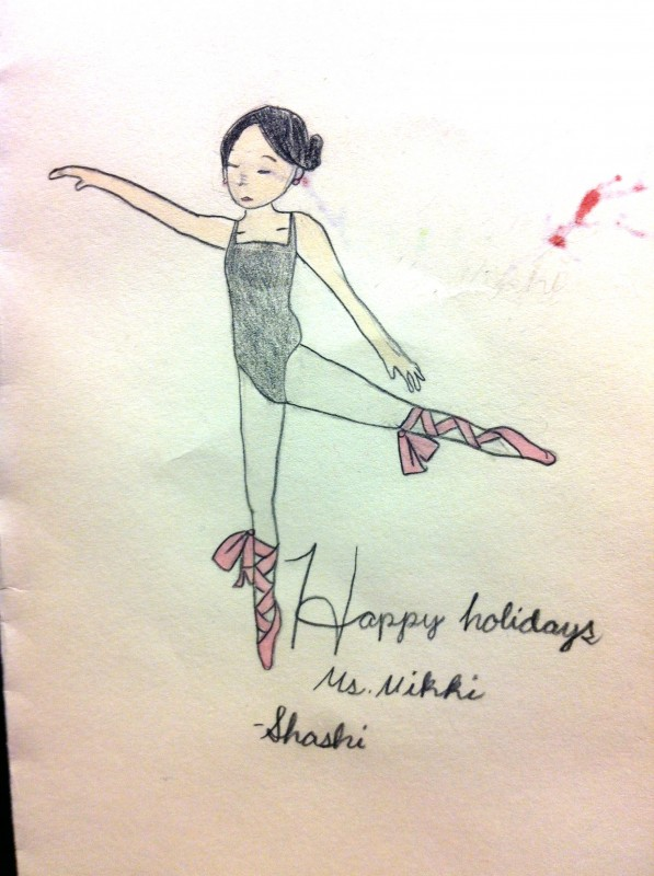 Shashi's Holiday Card