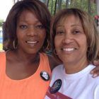Actress Alfre Woodard at the Colorado Juneteenth Music Festival