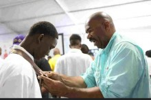 Photo of the 2013 Steve Harvey Mentoring Camp