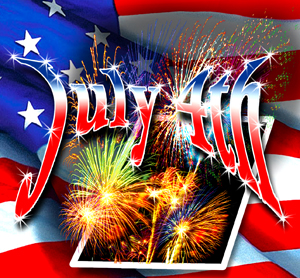 July 4thFireworks photo/Dave BoydIllustration/Ken Walters