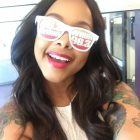 Chrisette Michele selfie summer