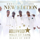 New Edition Hollywood Walk Fame