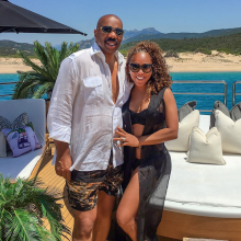 Steve Harvey Marjorie Harvey 9 year wedding anniversary