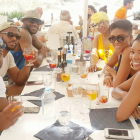 NBA LeBron James, Dwyane Wade, Chris Paul, Gabrielle Union, Jada Paul, Savannah James IG