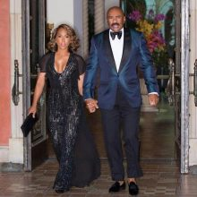 Steve Harvey Marjorie Harvey