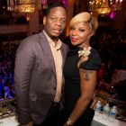 Mary J Blige with husband Kendu
