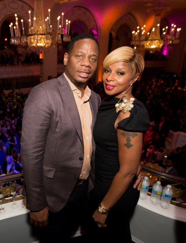 Mary J Blige with husband Kendu