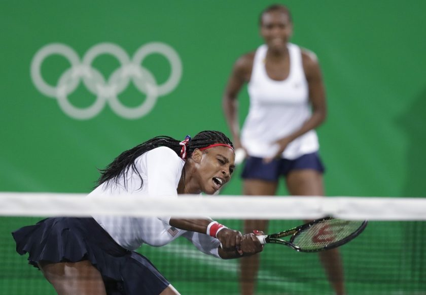Serena Williams and Venus Williams Rio Olympics_ AP Images