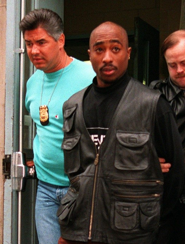 Tupac Shakur arrested_AP Images