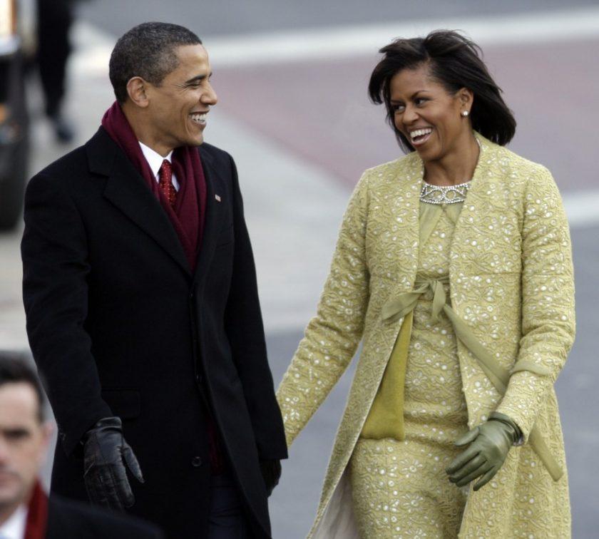 Obamas 2009 inaugural parade _AP Images