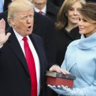 President Donald Trump swearing in_AP Images