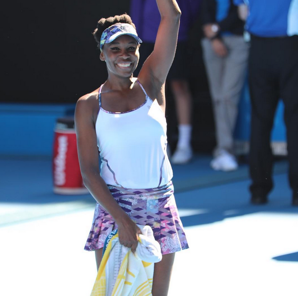 Venus Williams Can't Contain Herself After Advancing to Australian Open Final