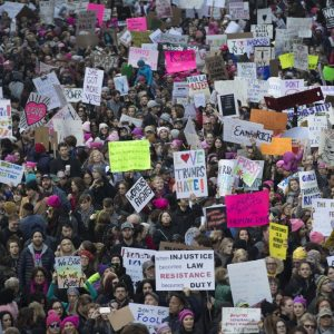 Women's March on Washington 2017_AP Images